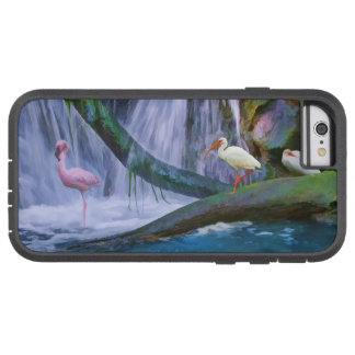 Tropical Waterfall, Flamingo, and Ibis Tough Xtreme iPhone 6 Case