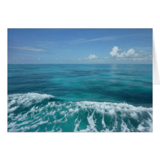 Tropical Waves Greeting Cards