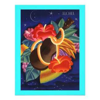 TROPICAL WEDDING SAVE THE DATE NOTE EZ2 CUSTOMIZE CUSTOM ANNOUNCEMENT