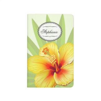 Tropical Wedding themed Journal