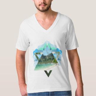 Tropical white shirt