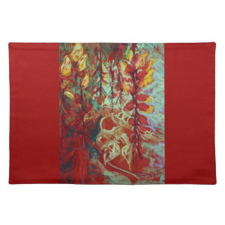 Tropical Wild Vines Placemat