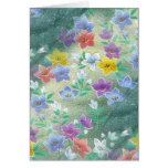 Tropical Wildflowers Card