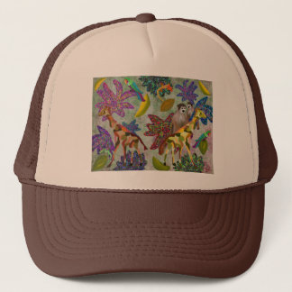 Tropical Wildlife Habitat Trucker Hat