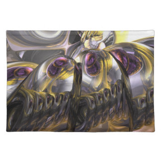 Tropical Wind Abstract Placemats