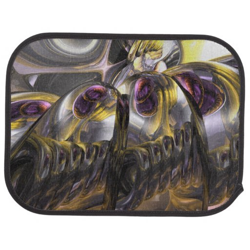 Tropical Wind Abstract Car Mat