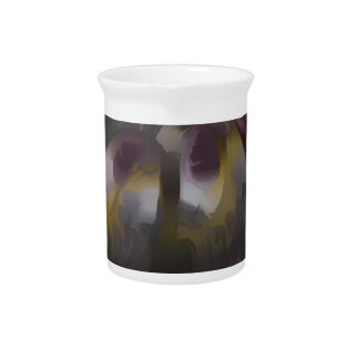 Tropical Wind Pastel Abstract Drink Pitchers