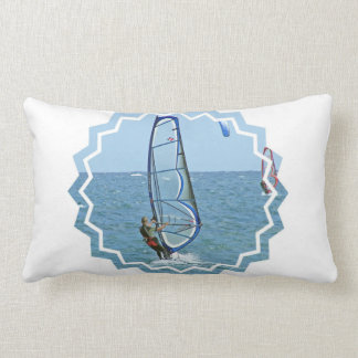 Tropical Windsurfing Pillow