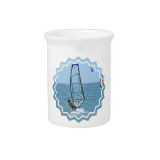 Tropical Windsurfing Pitcher