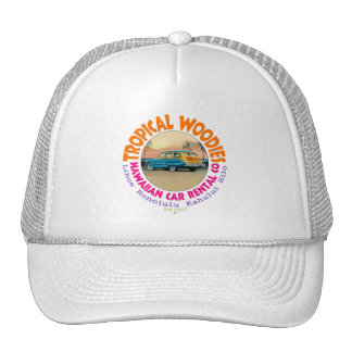 Tropical Woodies Hats