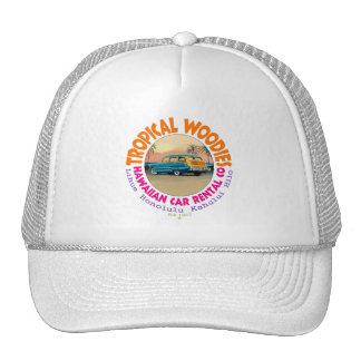 Tropical Woodies Trucker Hat