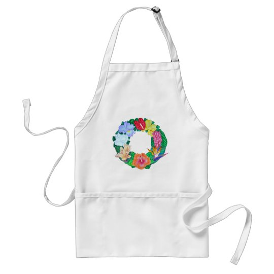 Tropical Wreath Adult Apron