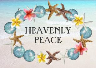 tropical wreath religious christmas cards - Tropical Christmas Cards
