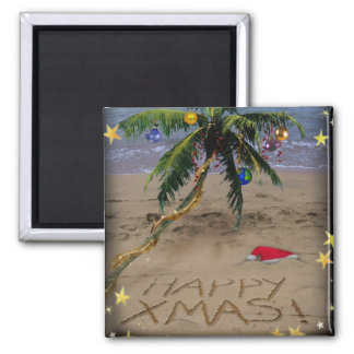 Tropical X-mas Magnet