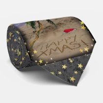 Tropical X-mas Neck Tie