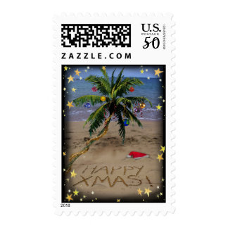 Tropical X-mas Postage