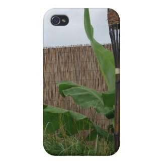 Tropical Yard iPhone 4/4S Covers