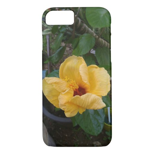 tropical yellow flower iPhone 8/7 case