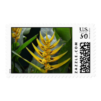 Tropical Yellow Plant Postage