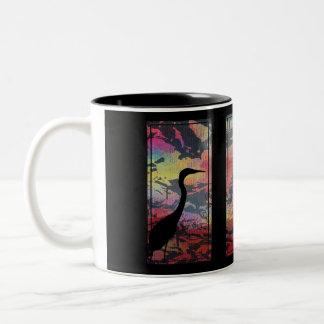 Tropical Zazz Two-Tone Coffee Mug