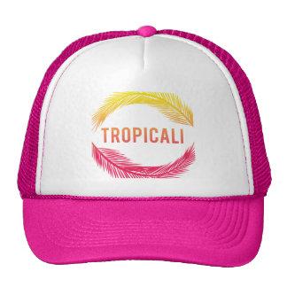 Tropicali logo trucker - pink trucker hat