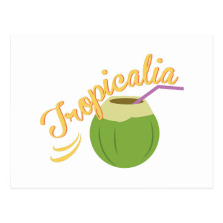 Tropicalia Postcard