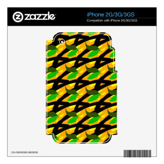 Tropically Skin Decal For iPhone 3GS