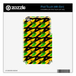 Tropically Skin iPod Touch 4G Decal