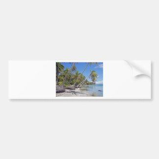 tropicalparadise bumper sticker