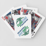 TROPICOOL playing cards Bicycle Playing Cards