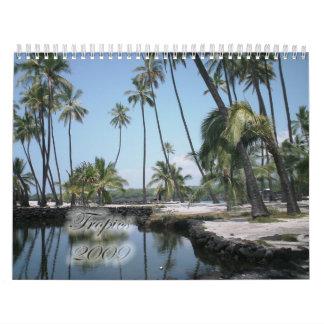 Tropics 2009 calendars