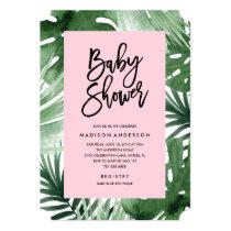 Tropics Baby Shower Invitation