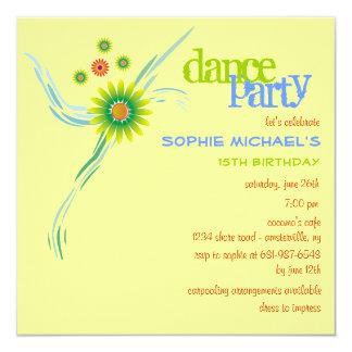 Tropics Birthday Party Invitation
