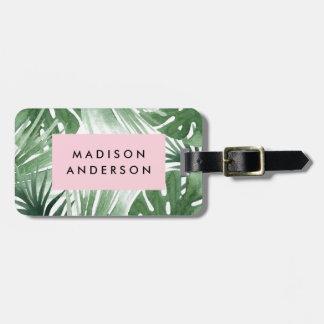 Tropics Luggage Tag
