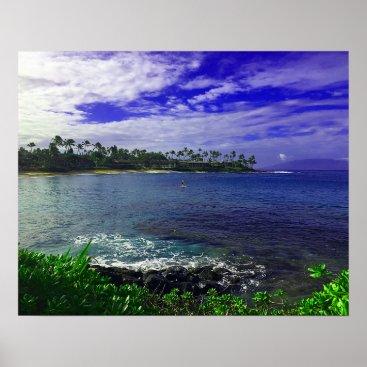 Hawaiian Themed Tropics Of Hawaii Poster