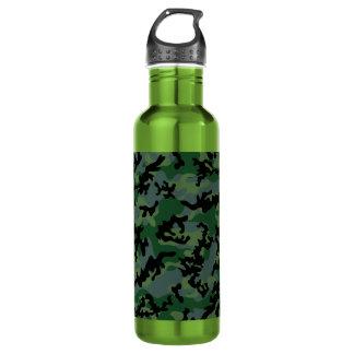 Tropics Verdant Camo Aluminum Water Bottle