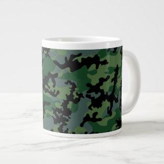 Tropics Verdant Camo Glass Jumbo Mug