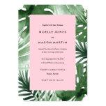 Tropics Wedding Invitation