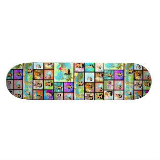 TropoGirl Comics Skateboard