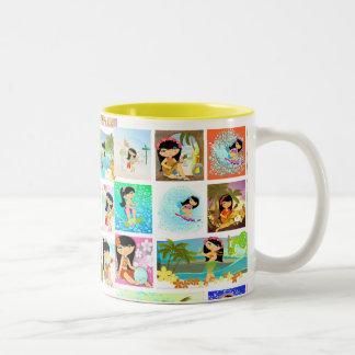 TROPOGIRL Potpourry 2, TROPOGIRL Potpourry 2 Coffee Mugs