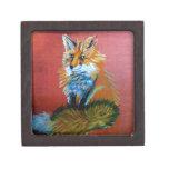 Trote del Fox Cajas De Joyas De Calidad