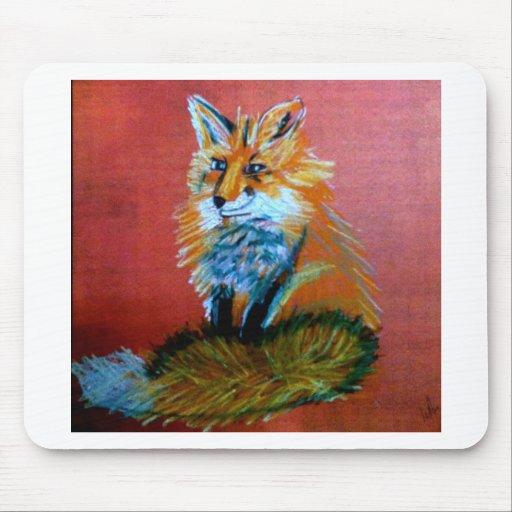 Trote del Fox Tapete De Ratones