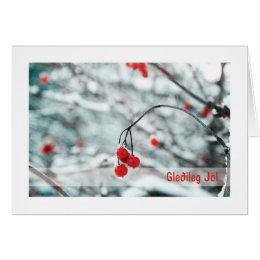 Troth Yule Card :: Winter Berries (ICE)