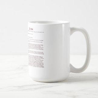 Trotón (significado) taza