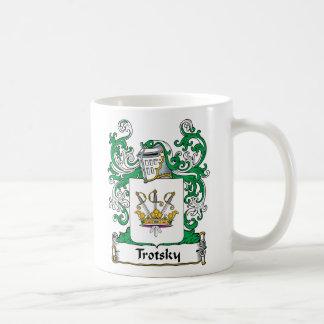 Trotsky Family Crest Classic White Coffee Mug