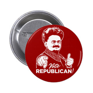 Trotsky Vote Republican Button