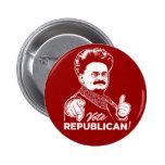 Trotsky Vote Republican Button Pins