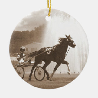 trotter ceramic ornament