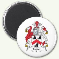 Trotter Family Crest Magnet