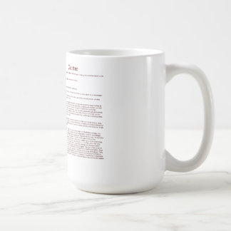 Trotter (meaning) coffee mug